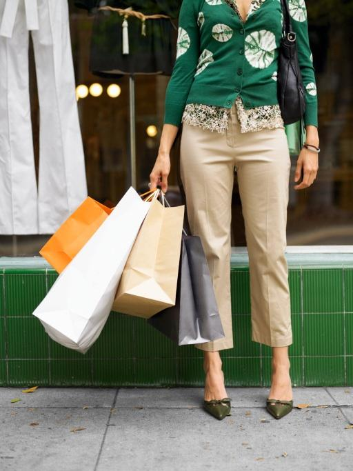 Shoppers didn't spend as much as anticipated at retailers in September.