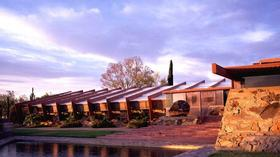 The solar panels on the Frank Lloyd Wright Foundation's home were switched on this week.