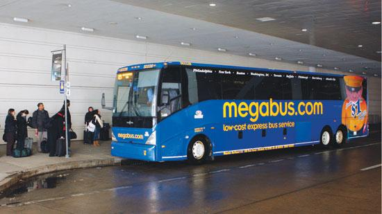 The Megabus stop at the David Lawrence Convention Center in downtown Pittsburgh will remain after complaints by the Gateway Center.