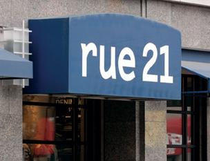 Rue21, a juniors clothing store, will open a store near the center of