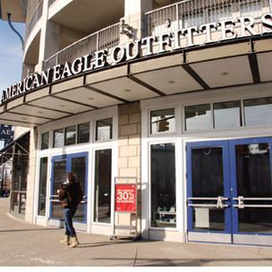 American Eagle Outfitters (NYSE: AEO) had a 40 percent increase in earnings in the first quarter.