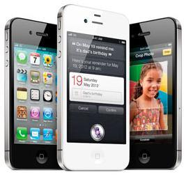 The new iPhone 4S helped Apple jump back into the No. 1 spot for global smartphone sales in the fourth quarter.