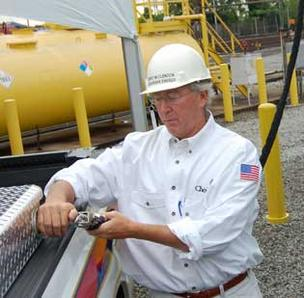 Aubrey McClendon remains CEO at Chesapeake.
