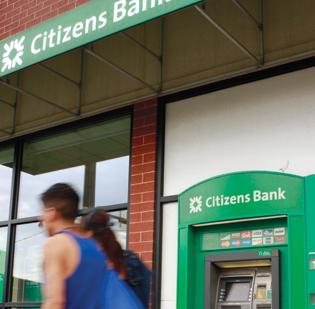 Citizens Bank parent RBS reported a $3 billion net loss this morning.
