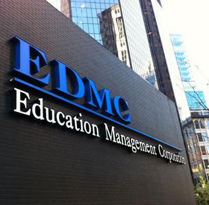 Education Management Corp. shares dropped 10.7 percent in trading Monday on the Nasdaq stock exchange.