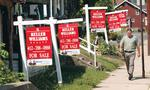 New home listings down 8 percent in March