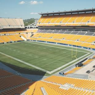 Heinz Field was the site of the Pittsburgh Steelers-Indianapolis Colts game that was telecast Sunday night on NBC.