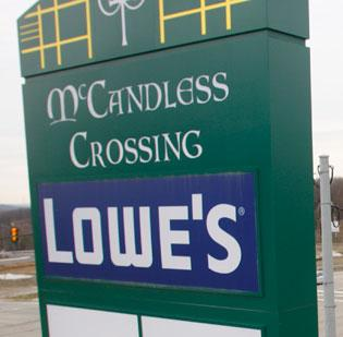 Dick's Sporting Goods (NYSE: DKS) plans to locate at McCandless Crossing.