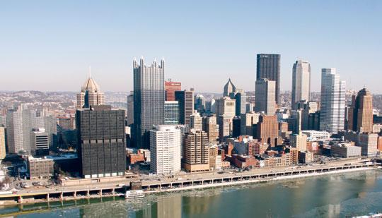 Pittsburgh's job growth was the strongest of any U.S. city outside Texas