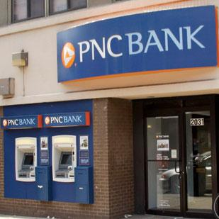 PNC Bank (NYSE: PNC) will be closing all of its branches in and around the path of Hurricane Sandy for Monday.