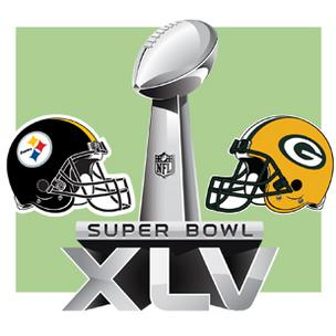 Super Bowl XLV: Pittsburgh Steelers vs. Green Bay Packers
