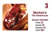 #3:Morton's The Steakhouse, 625 Liberty Ave., Pittsburgh