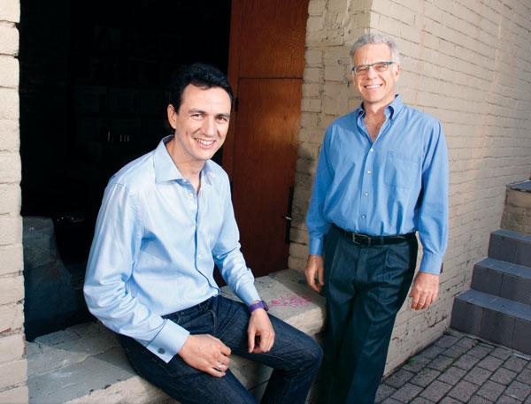 Flashgroup, Inc. co-founders Carlos Guestrin, left, and Seth Copen Goldstein.