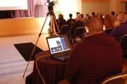 More than 200 people were watching the event streamed online by AlphaLab alumni company Vivo.