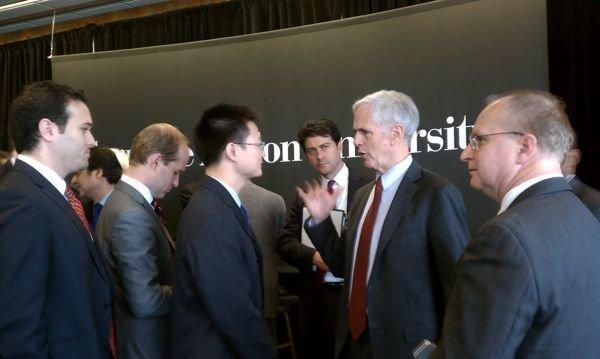 U.S. Secretary of Commerce John Bryson visited Carnegie Mellon University Wednesday morning.