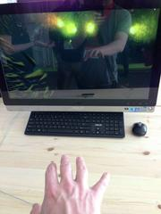 """There wasn't a single app that """"won"""" the festival but plenty of buzz was created around LeapMotion, a device that allows you to control your computer by using gestures."""