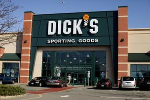 A Bloomberg file photo of the Dick's Sporting Goods store in Paramus, N.J. Dick's has removed from sale semi-automatic rifles like the one that was used in the Newtown, Conn., school shooting. But Pittsburgh-region gun stores say they're seeing a dramatic