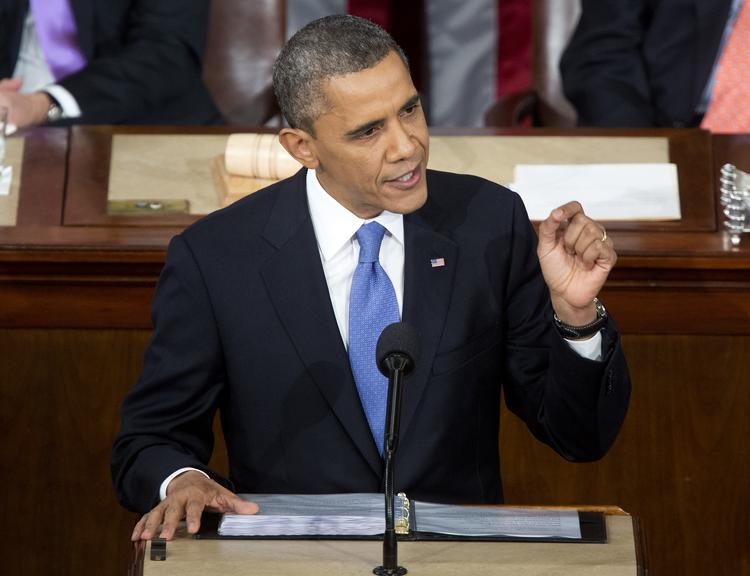 President Obama gives the State of the Union address Tuesday night in Washington, D.C.