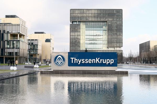 ThyssenKrupp said Tuesday it would still like to have an agreement in place for its two steel plants in the Americas by May.