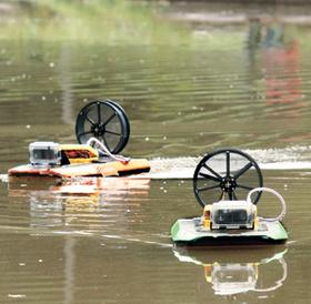 Platypus LLC is developing affordable robots with for environmental testing.