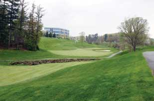 The Southpointe Golf Club, part of the Southpointe Business Park.