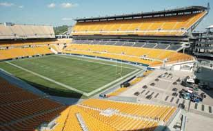 Heinz Field was the location of the Kenny Chesney concert last week.