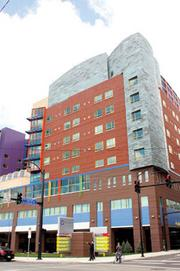Coming in at No. 2 on the list was the Children's Hospital of Pittsburgh's Clinical Services Building, with 1,100,000 square feet.