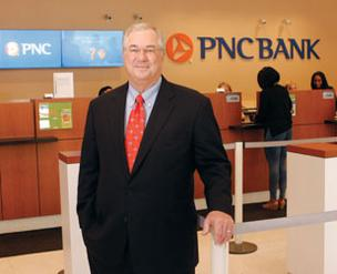 James Rohr, top local officer, PNC Bank NA