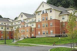 Coming in at No. 5 on the list was Slippery Rock University Student Housing, with 742,834 square feet.