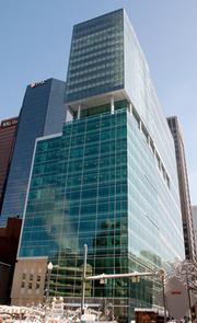 Coming in at No. 4 on the list was Three PNC Plaza, with 750,000 square feet.