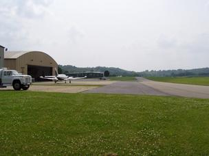 Washington County Airport in North Franklin Township.