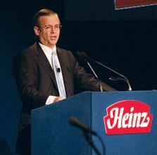 H.J. Heinz Co. Chairman, President and CEO William Johnson