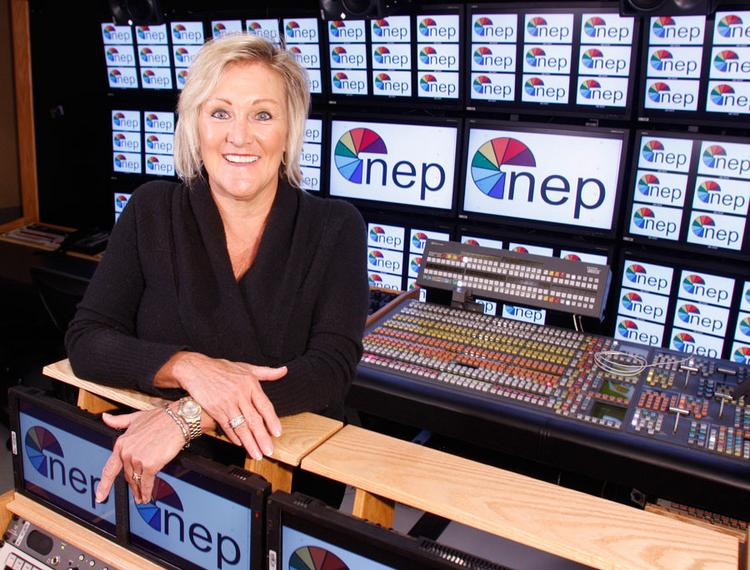 Deborah Honkus, chairman of NEP Broadcasting in Pittsburgh.
