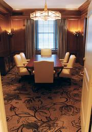 The Indiana Boardroom at the Omni William Penn, Downtown, was formerly a storage space before renovations.