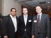 From left: Mahir Desai of PNC, Colin Gleason of PNC and Ryan Conboy of Cresa Pittsburgh.