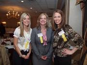 From left: Aynsley Zappa of UPMC Health Plan, Tricia Fisher of UPMC and Monica Lorish of UPMC WorkPartners.