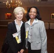 From left: Susan Stocker of UPMC WorkPartners and Christina Stewart of UPMC WorkPartners.