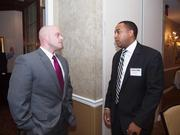 From left: Brian Niebel of UPS and Nick Trotter of UPS.