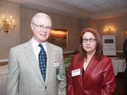 George Bromall of Point Park University and Suzi Neft of Suzi Neft Promotions.