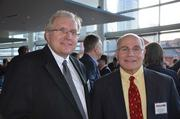 Gerald Peterson of Tartan Group LLC and David Esposito of Eckles Architecture & Engineering.