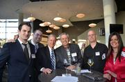 Networking at bizmix on April 3.