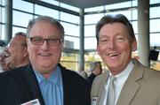 Andy Birol of Birol Growth Consulting and Gary Basilone of Basilone Office Staffing.