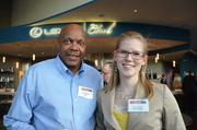 David Hayden of The Power Group for Ignite and Ashley Moore of RJ Lee Group.