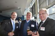 From left: Denny Terzich of BNY Mellon, Robert Naugle of Eckles Architecture & Engineeering and Gerry Peterson of Tartan Group LLC.