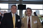 John Pappas of Eckles Construction Services, left, and Ken Holsopple of Eckles Construction Services.