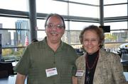 Paul Tedsco of Family Links and Colleen Mindzak of Design Graphics.