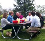 Romney sits down with voters in Bethel Park