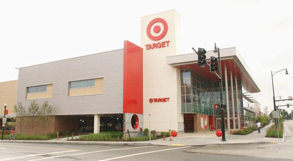 Exterior of the new East Liberty Target in Pittsburgh, photographed July 19, 2011.