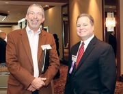 Jeff Dressler, left, of Coleman Search Consulting and David Mollish of GAI Consultants, Inc.