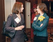 Meyer, Unkovic & Scott LLP's Alexis Unkovic McKinley, left, and Mary McGinley